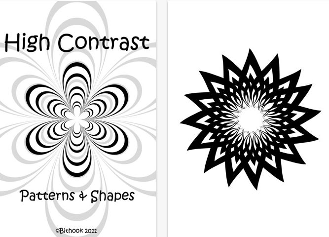 High Contrast Patterns and Shapes