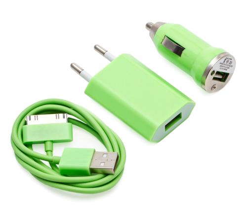 set-3-in-1-cabluri-incarcator-iphone-verde
