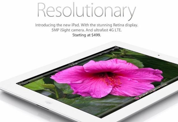apple lanseaza ipad in 2012