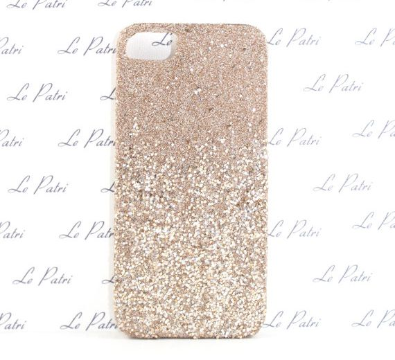 Champagne-Gold-and-Silver-Ombre-Phone-Case-for-iPhone-4-4s-5