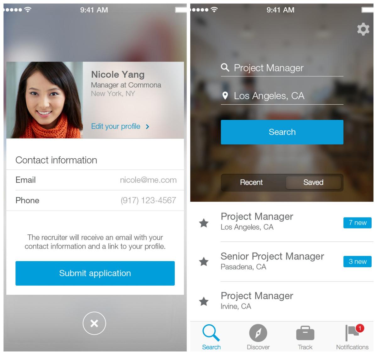 LinkedIn-Job-App