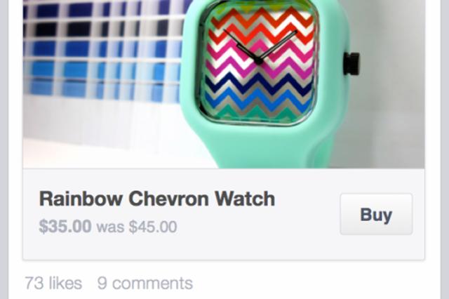 facebook buton buy