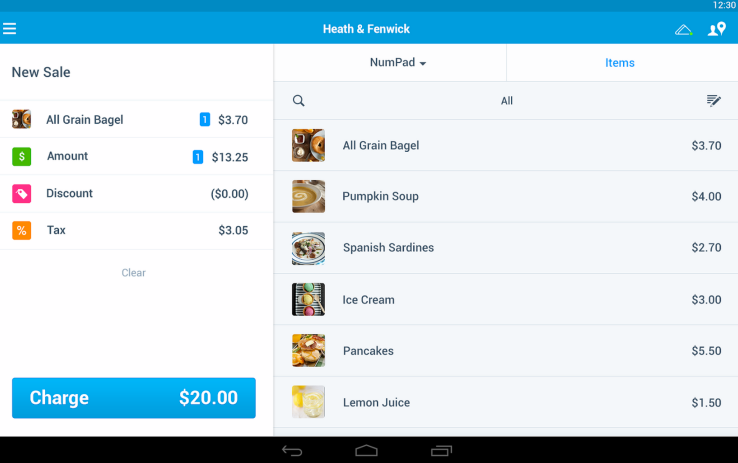 paypal here aplicatie tableta android