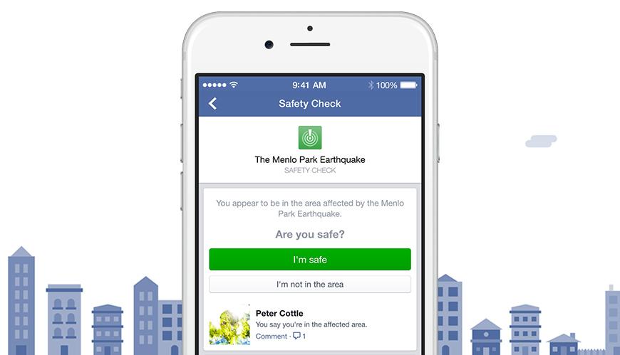 Facebook tool siguranta calamitate naturala