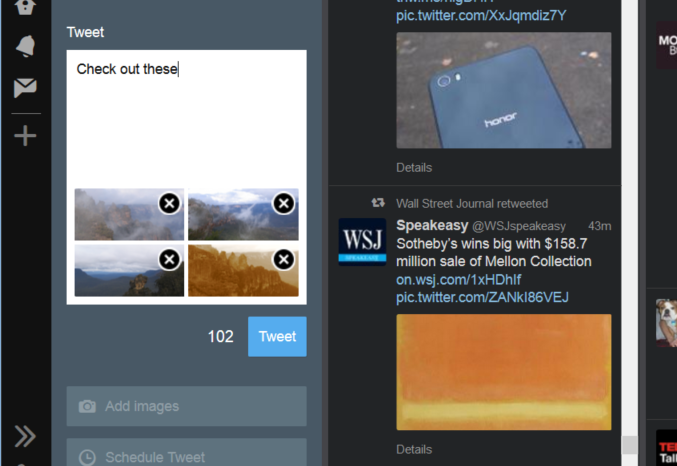 tweetdeck poze tweet