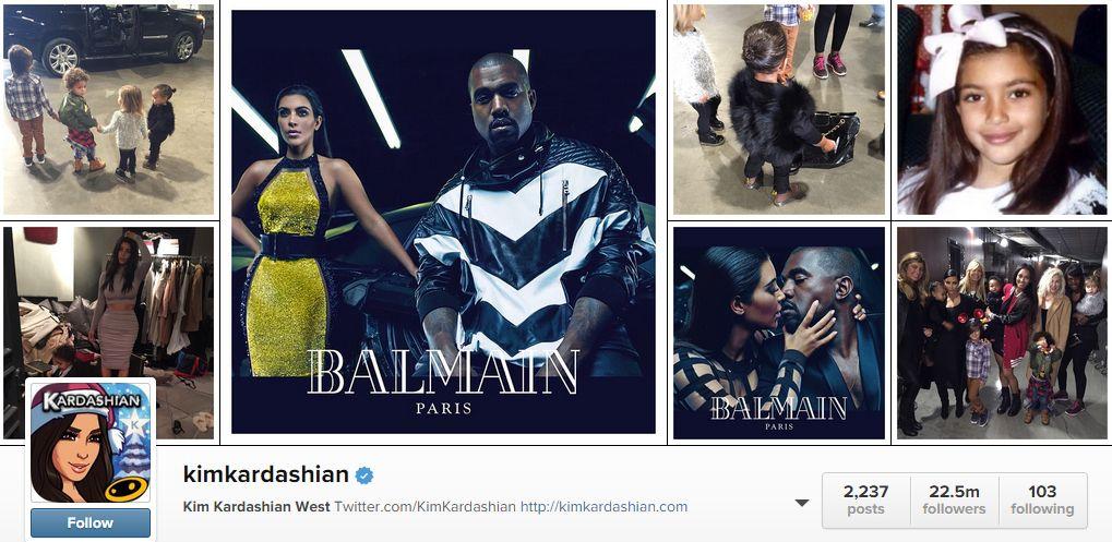 followeri instagram kim kardashian