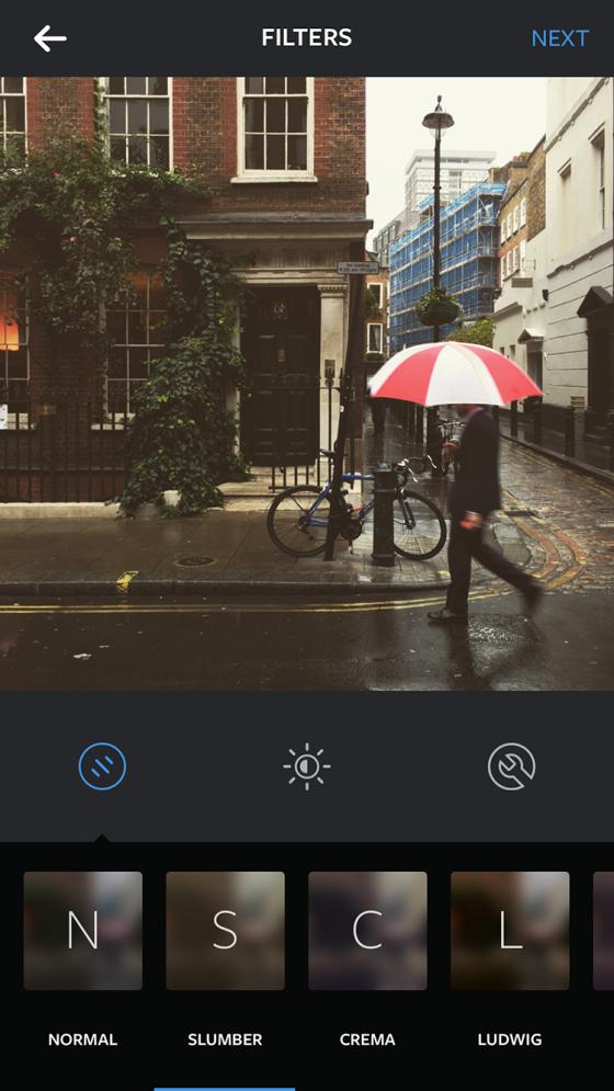 filtru instagram slumber