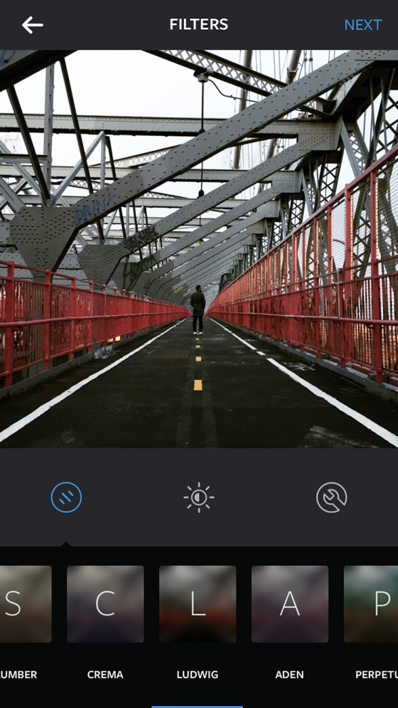 filtru instagram ludwig