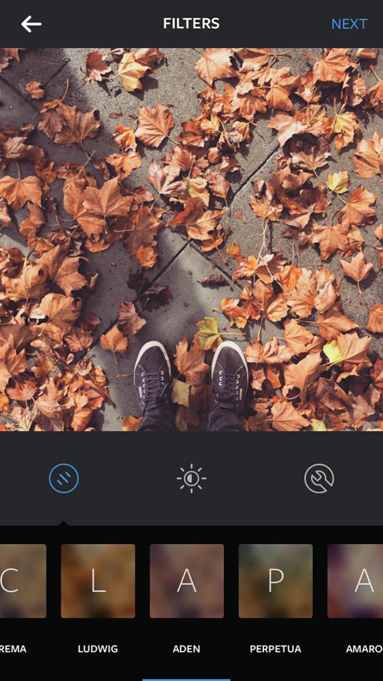 filtru instagram aden