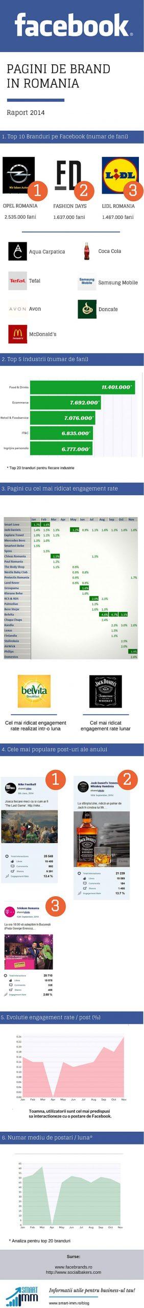 Paginile de brand din Romania in 2014