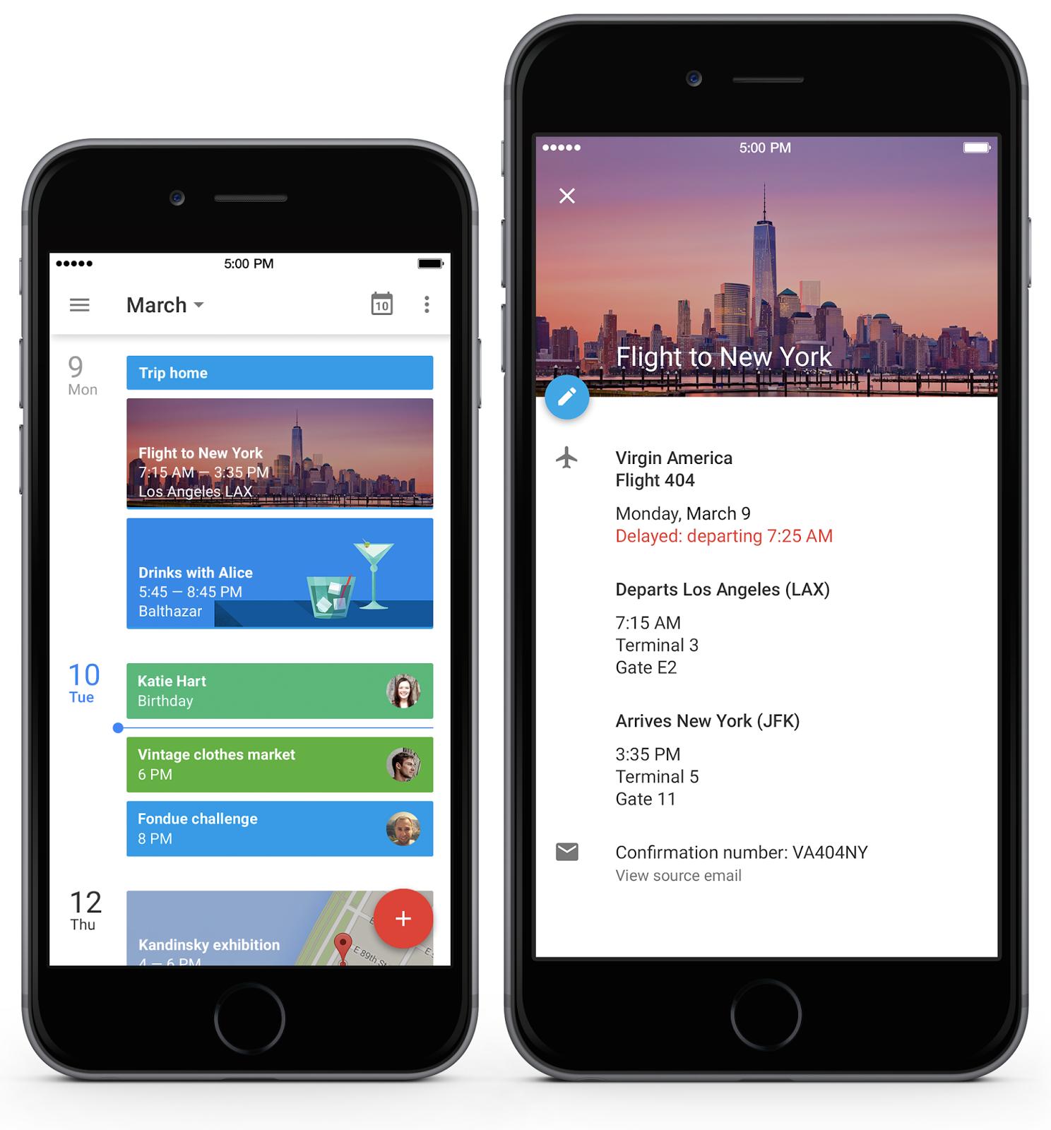 google calendar iphone