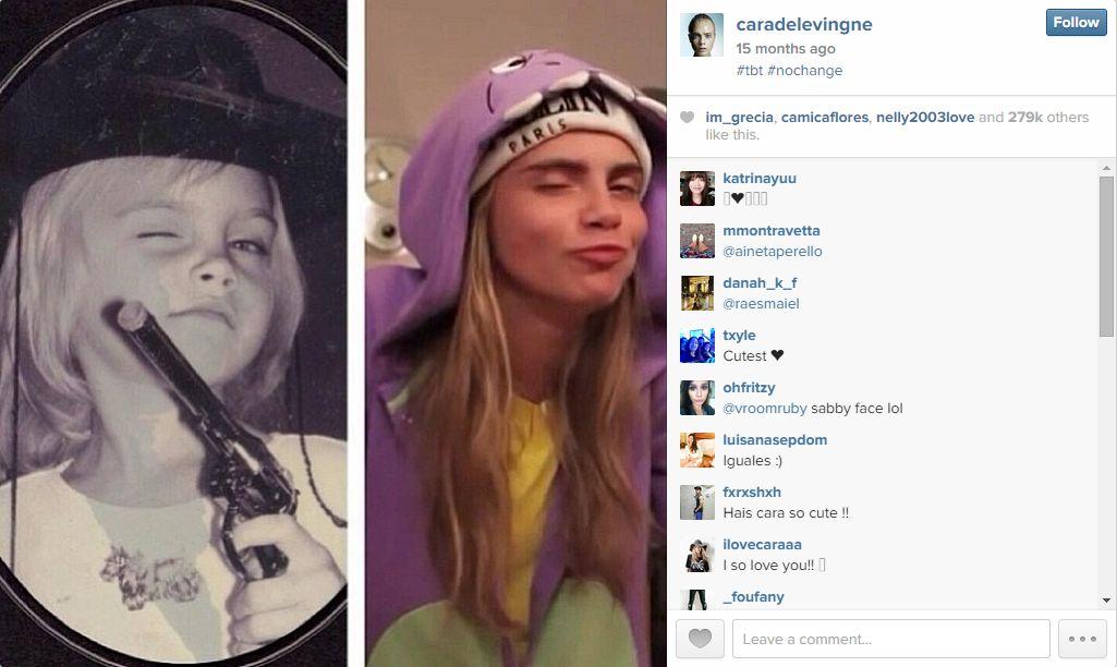 Cele mai populare #TBT pe Instagram in 2014