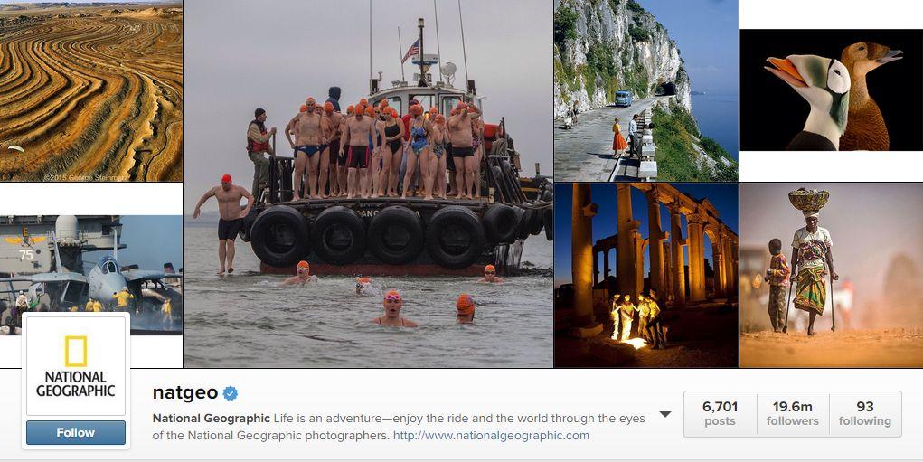 Cine administrează contul National Geographic de pe Instagram