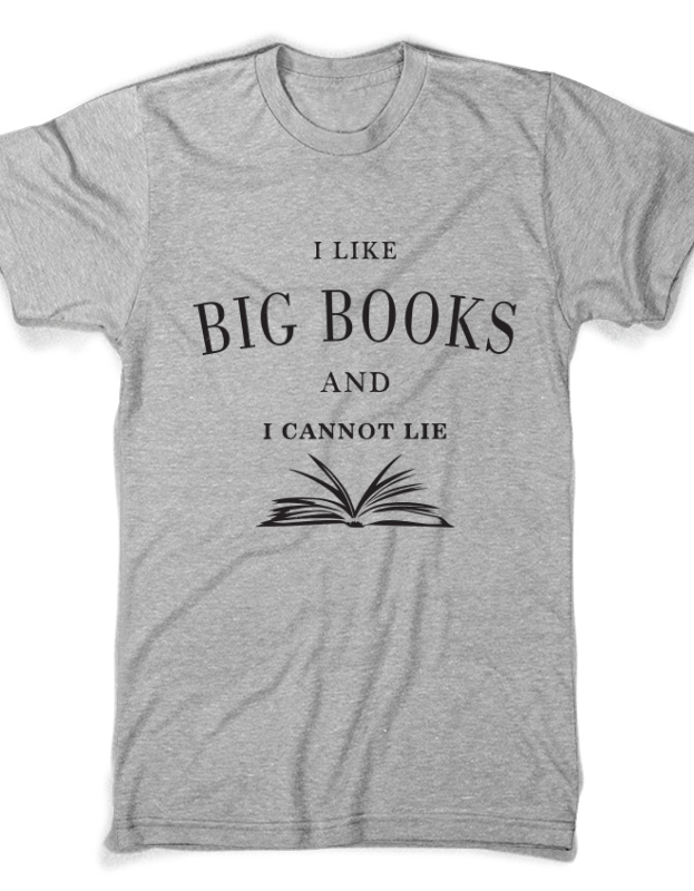 Tricou I like big books