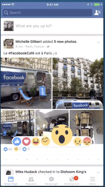 Facebook a dezvăluit cum vor fi noile butoane