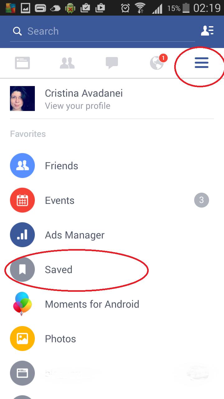 Cum salvezi link-uri pe Facebook