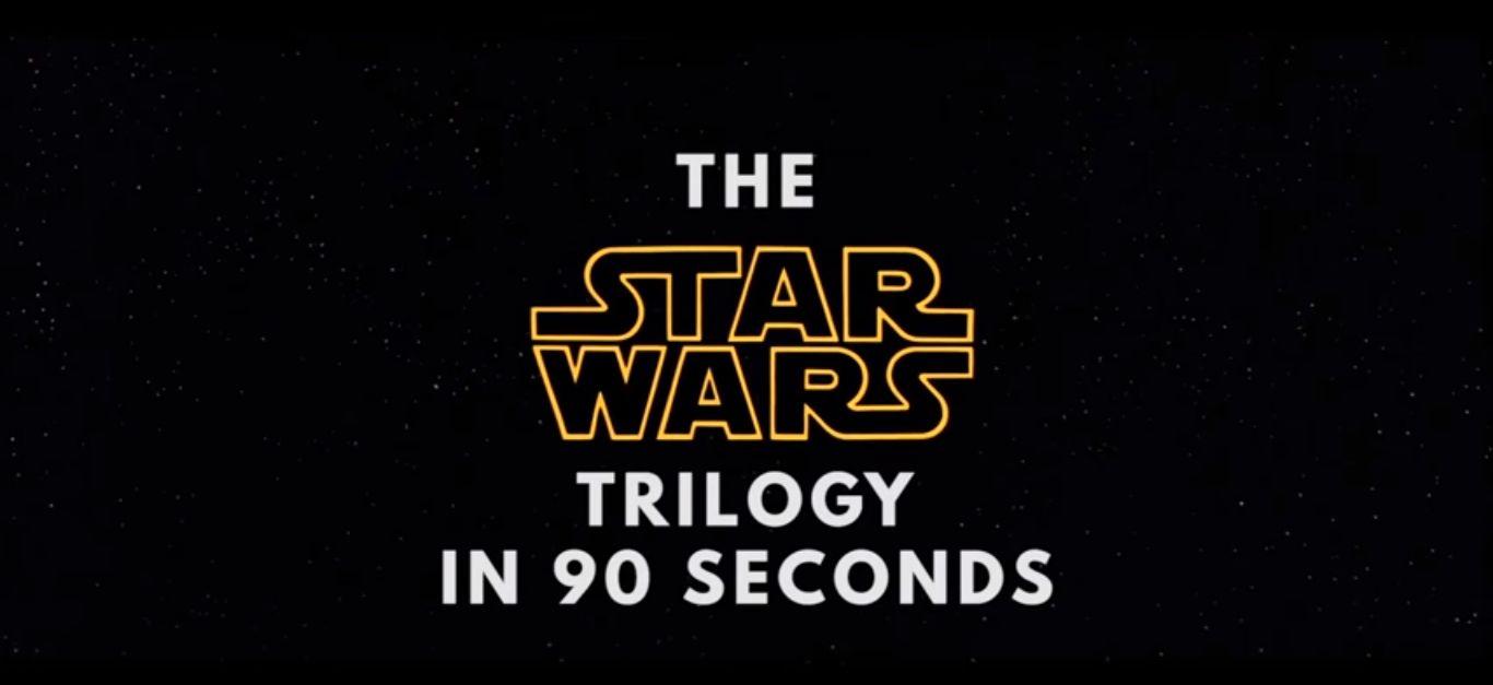 Vezi cele 3 filme original Star Wars în 90 de secunde