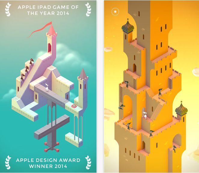 Jocul Monument Valley pentru iPhone e gratis