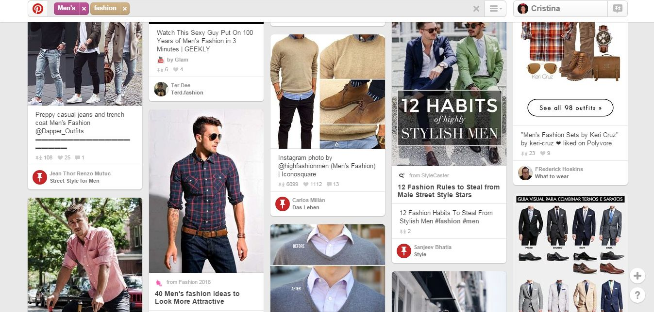 Top 10 căutări pe Pinterest în 2015