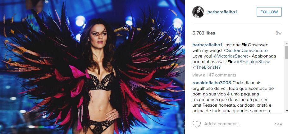 47 de modele Victoria's Secret pe Instagram
