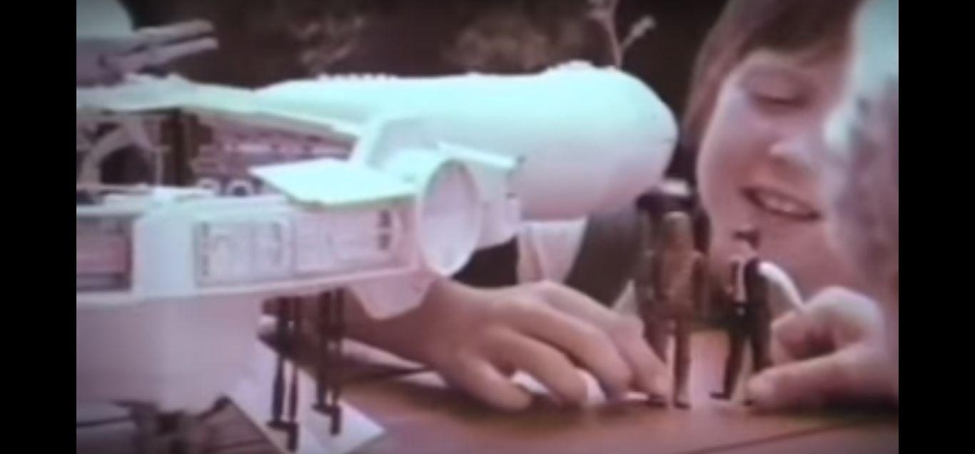 Toate reclamele la jucăriile Star Wars din 1977