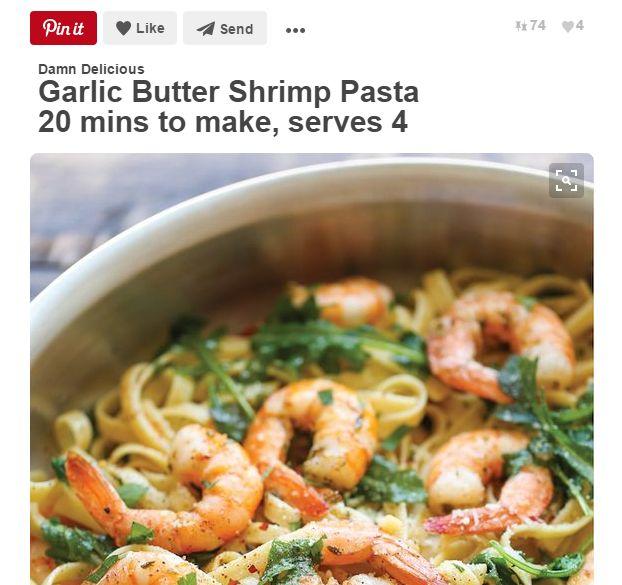 Top 10 rețete de paste pe Pinterest