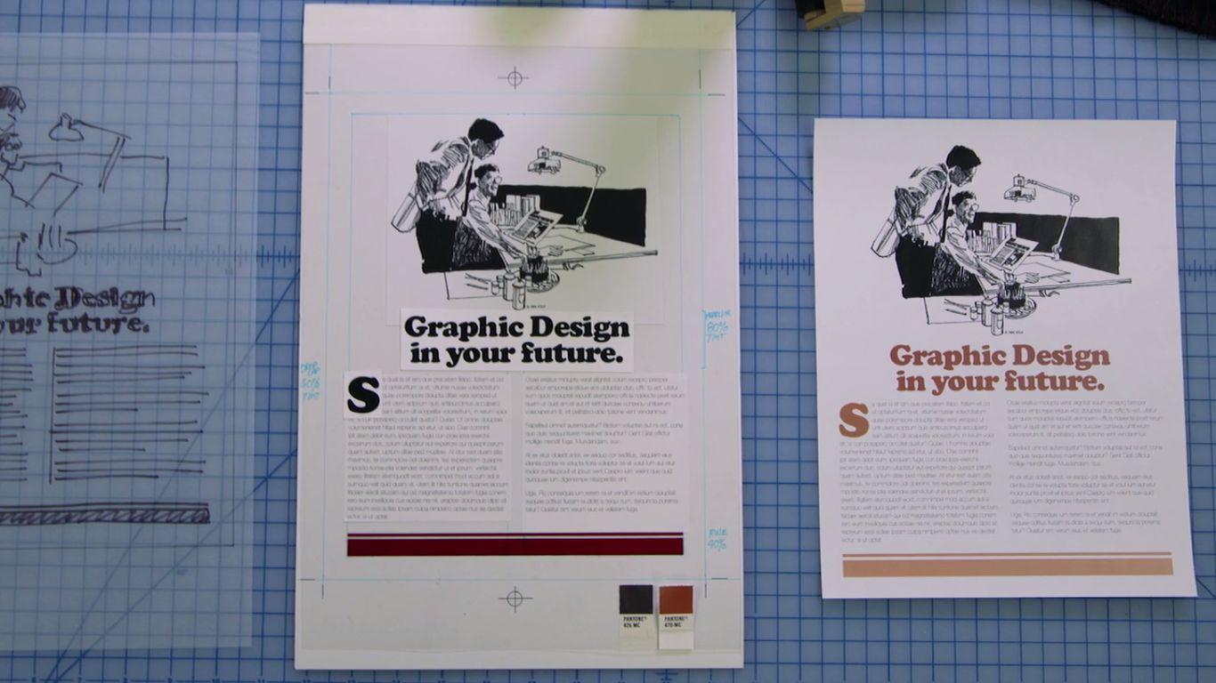 Graphic designul înainte de calculatoare