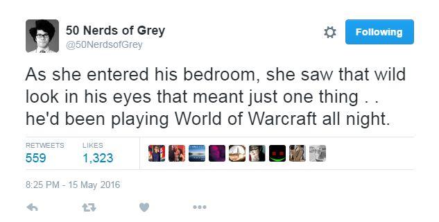 Twitter, geeks și 50 Shades of Grey