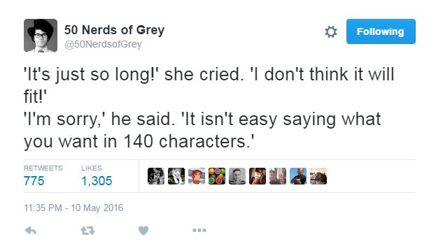 Twitter, geeks și 50 Shades of Grey