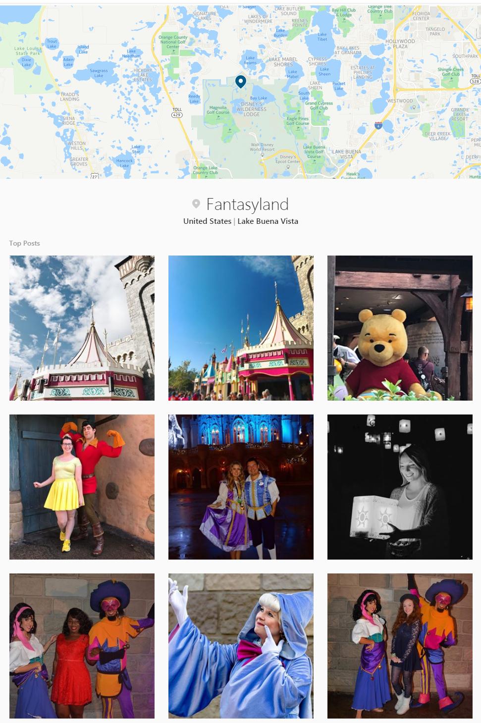 top locuri instagram 2017